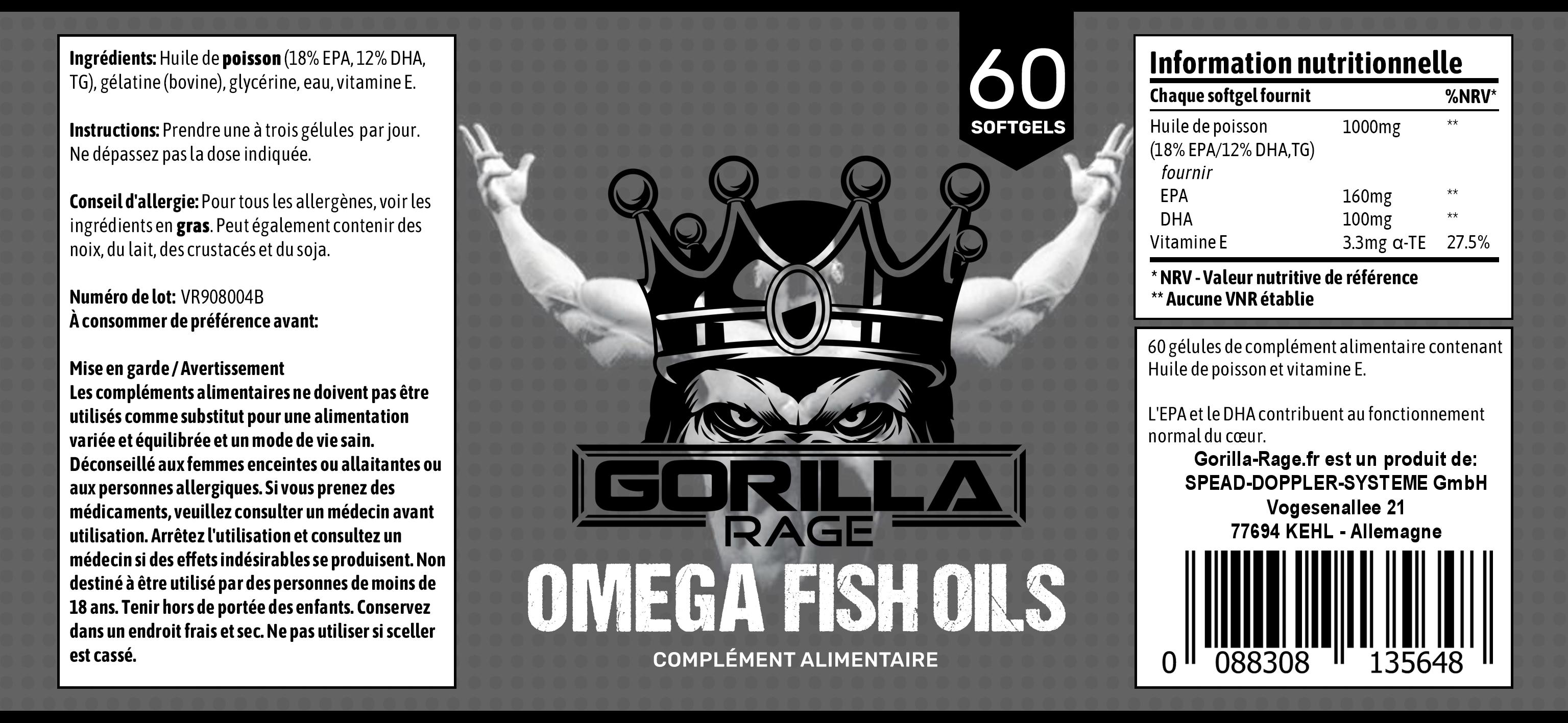 Omega French Label