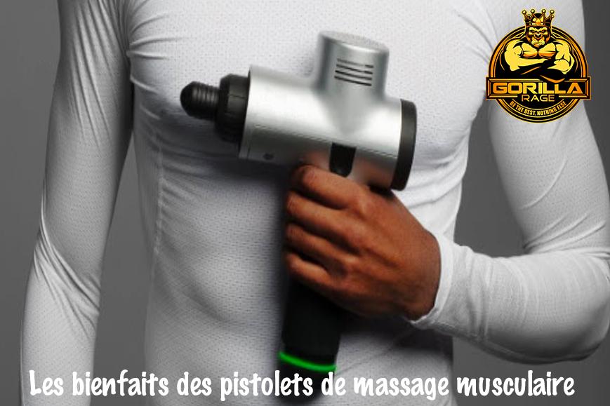 Les bienfaits des pistolets de massage musculaires